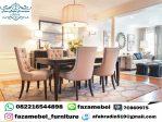 Set Kursi Makan Mewah Furniture Jepara