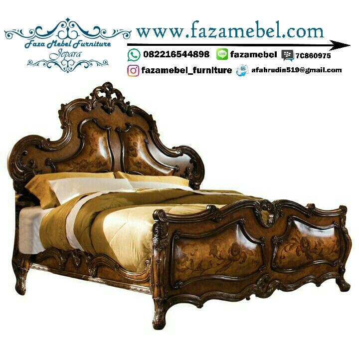 Tempat Tidur Mewah Klasik Terbaru,