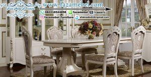 Set Kursi Makan Klasik Mewah